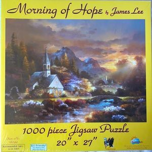 1000 pc puzzle - Morning of Hope by James Lee